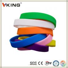 Produits Chine Bracelets personnalisés personnalisés en silicone