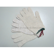 Thin Cotton Glove, Cotton Knitted Glove