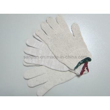 Thin Cotton Glove, Cotton Knitted Glove