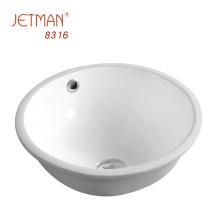 mini wash sink oval shaped bathroom wash basin ceramic under counter basin