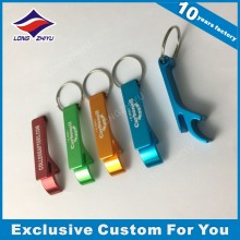 High Quality Keychain Custom Logo Zinc Alloy Bottle Opener Keychain