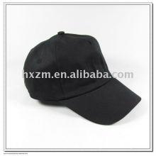 Black five panels baseball cap/trucker cap in colors