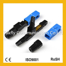 Sc / APC Singlemode mm Embedded Type Fiber Optic Fast Connector / Optical Fast Connector