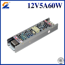 LED Dimmable Driver 60W 12V 5A Triac PWM 0-10V Dimming