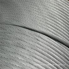 Top vendas galvanizado cabo de telecomunicação de fio de aço