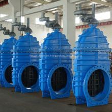 AUMA Electric Actuator Resilient Seat Gate Valve