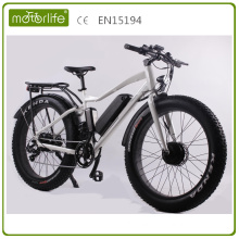 Motorlife 26inch fat tire electric bike/best seller in 2017/high quality in China