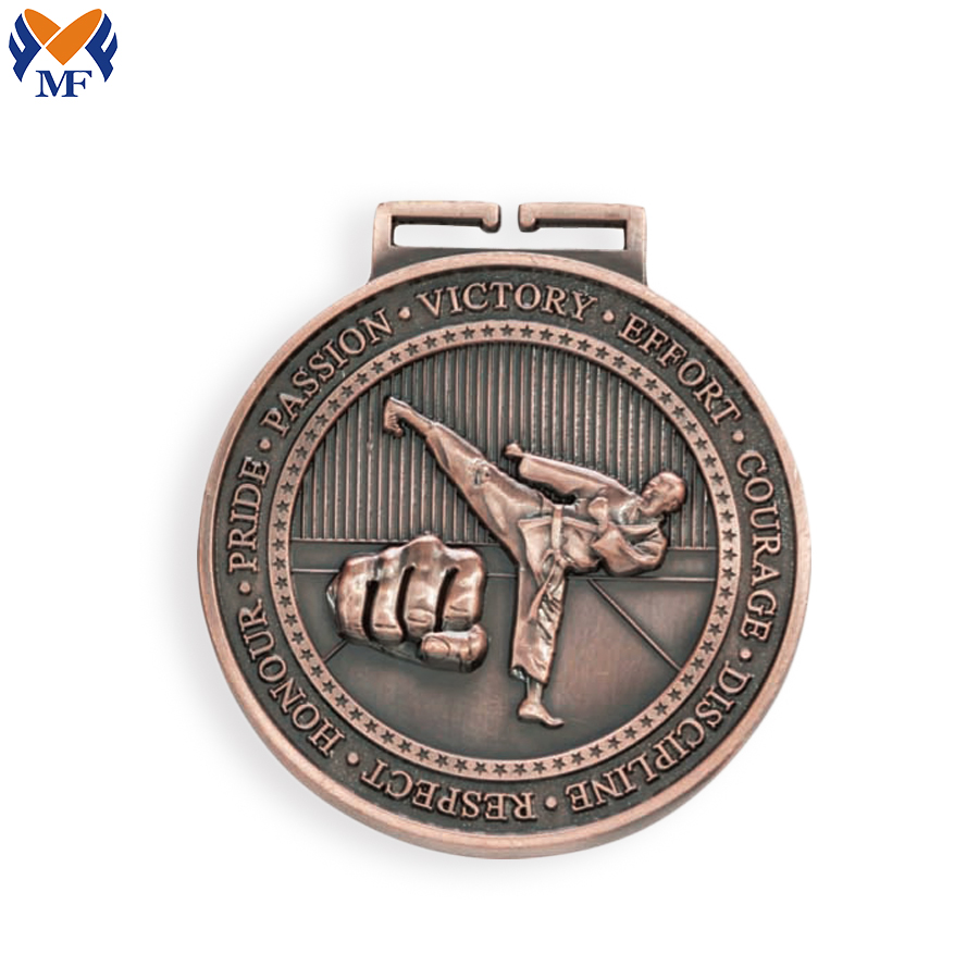 Karate Medal Custom