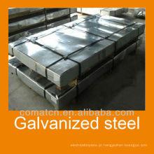 Lantejoula zero galvanizadas chapas de aço para material de construção