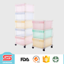 most popular multipurpose plastic storage cabinet with wheels