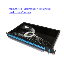 19 pouces 1u Rackmount Mux / Demux Optical DWDM