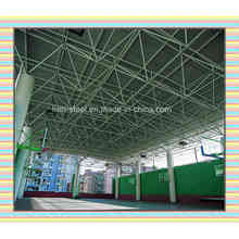 Space Truss Roof School Building Grouped by Steel Tube and Steel Ball