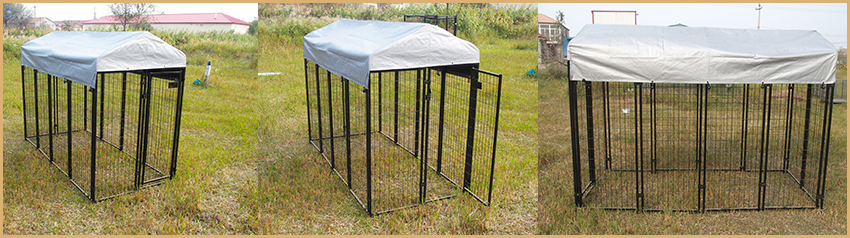 wire welded dog kennel cage
