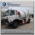 Dongfeng Rhd LHD Cummins Engine 6cbm 8cbm Concrete Pump Mixer Truck