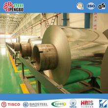Bobine d'acier inoxydable laminée par AISI304