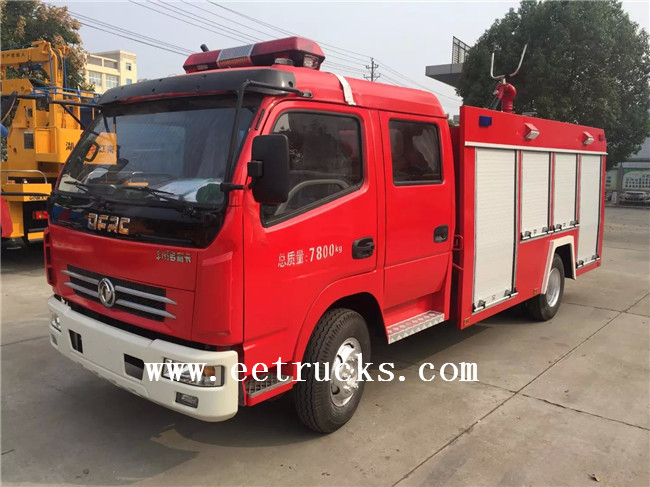 Dongfeng Water Foam Fire Trucks