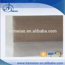 Щелочное содержание щелочных металлов с тефлоновым покрытием Ткань сетчатой сетки из стекловолокна