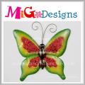 Decoração agradável da parede da borboleta do metal colorido