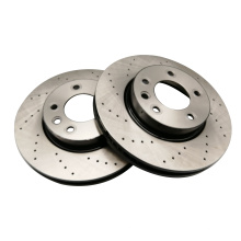 Factory Price different surface drilled and slotted brake disc for truck and car