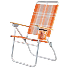 Modern Outdoor Aluminium Metal Beach Cup Sun Lounge Zero Gravity Folding Lawn Chair