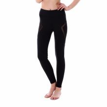 Canetas de yoga fitness preto barato da mulher premium