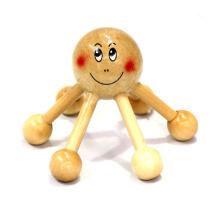 Марка КТ высокое качество портативный ручка деревянная волос личный массажер головы