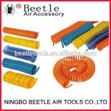 outil pneumatique du compresseur d'air enroulé PU / PE / NYLON tuyau d'air en plastique