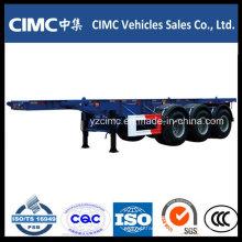 Cimc 3 Axles 40FT Skeleton Container Semi-Trailer