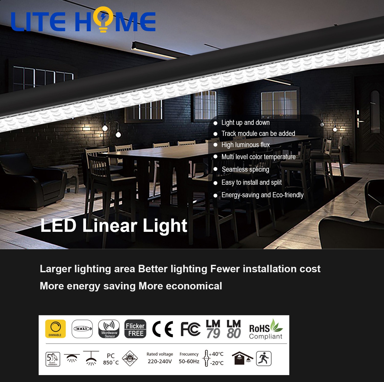 led linear light on alibaba