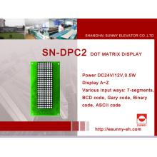 Indicador de matriz DOT para elevador (SN-DPC2)