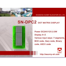 DOT-Matrix-Display für Aufzug (SN-DPC2)