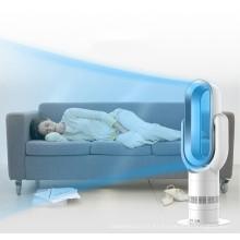 2019 Comercio al por mayor Mini PTC Ventilador eléctrico de calefacción oscilante de cerámica con pantalla digital y control remoto