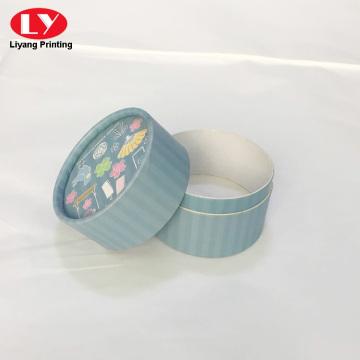 Custom round cylindrical gift box