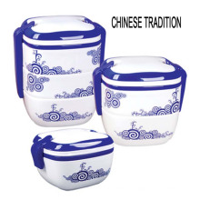 2016 neue Design China Stil Kunststoff Lebensmittelbehälter