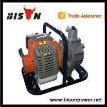 BSWP10 BISON Chine Taizhou Mini pompe à eau à essence portative avec poignée de bon prix