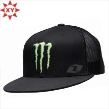 Chapeau promotionnel de casquette de baseball de sports fait sur commande promotionnel de 6 panneaux