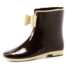 Bow-Tie Women Rubber Rain Boots