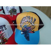2015 fashion custom design baseball cap/ led cap