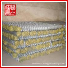 Fournisseur de clôtures en chaîne galvanisée de 1 pouce