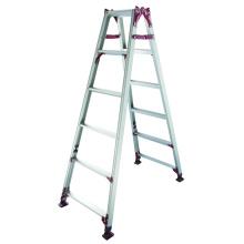 Aluminium-Leiter mit verstellbaren Bein