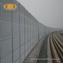 Kualitas tinggi hambatan kebisingan untuk jalan raya dinding jembatan kereta api noise barrier