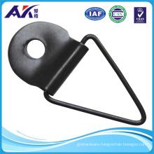 Black Plated Metal Hanger for Picture Frame