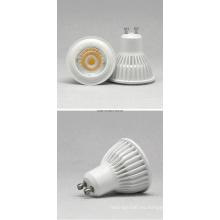 GU10 7W COB 85-265 Proyector de LED blanco cálido