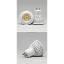 GU10 7W COB 85-265 Projecteur LED blanc chaud