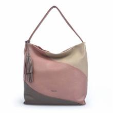 Multifunctional Everyday Bag Zippered Stitching Hobo Bag