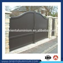 Conception de porte principale en aluminium durable