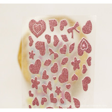 Розовое Золото Индивидуальные Die Cut Наклейки Наклейки Случайный Цвет Виниловые Наклейки Блеск