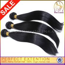 Верхние Продавая Продукты 2015 Необработанные Человеческих Перуанский Девы Волос