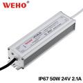 Fonte de alimentação do modo do interruptor da CA / CC do diodo emissor de luz de 50W 12V / 24V