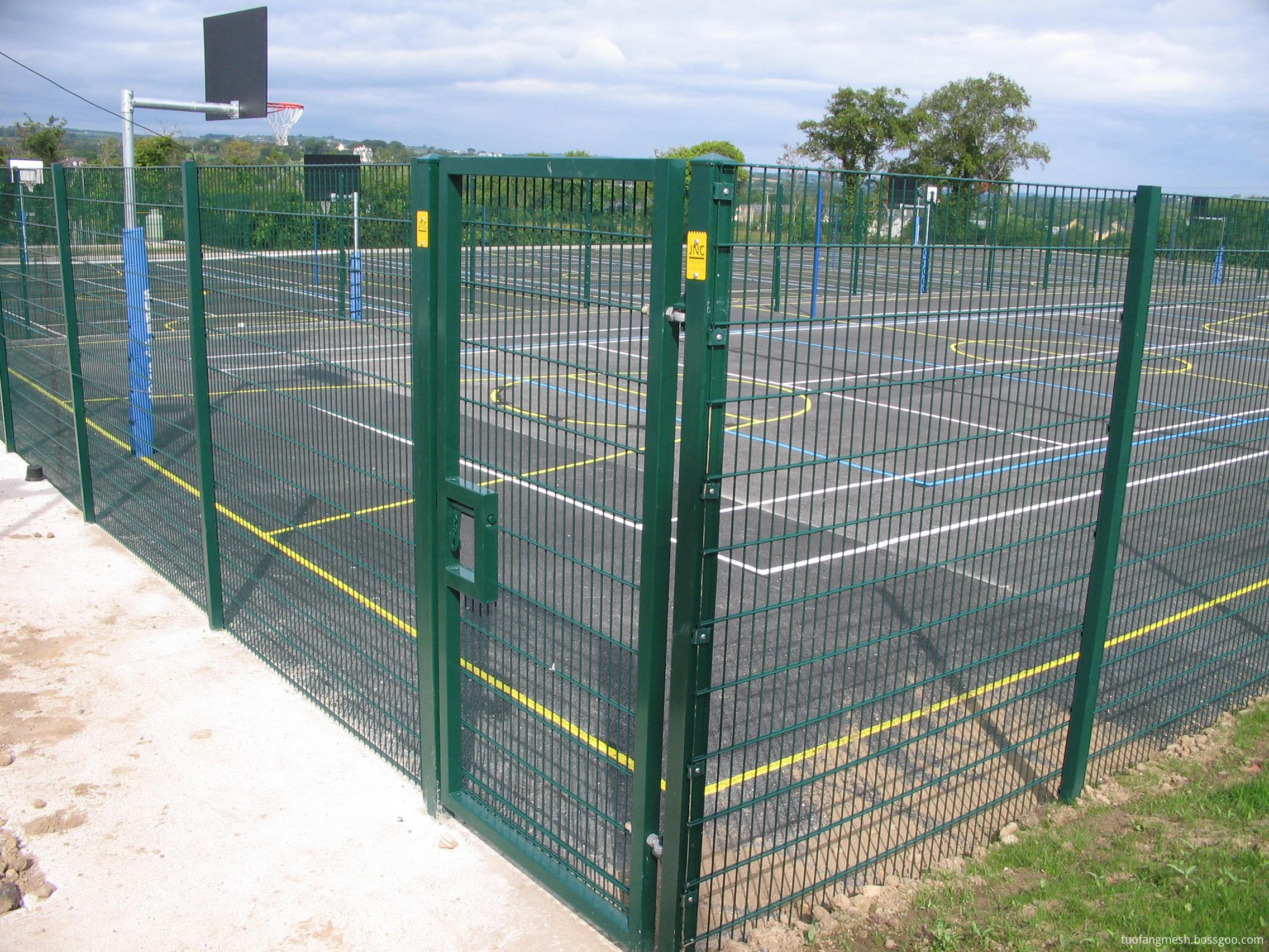 twin wire fence for play ground
